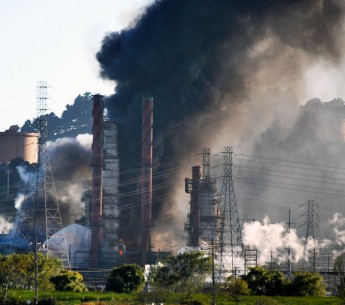 On August 6, 2012, a fire and explosion at a Chevron refinery in Richmond, Calif. caused 15,000 people to seek medical treatment.