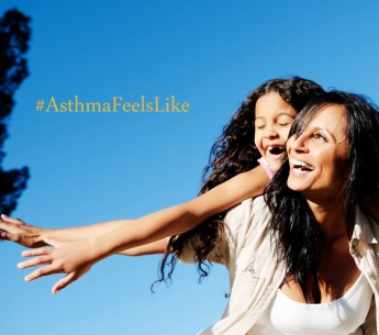 Tell us, what does #asthmafeellike to you?
