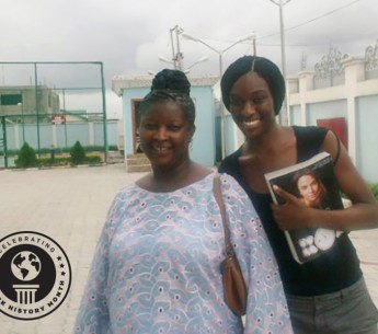 Chinyere and mom