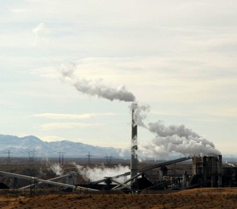 A coal fired power plant in Nevada