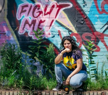 """""""Women have to be the fiercest,"""" says Maria Lopez-Nuñez. She is fighting for environmental justice in Newark, NJ's Ironbound neighborhood."""