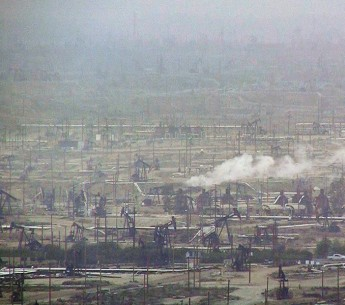 Oil and gas fields in California's Central Valley.
