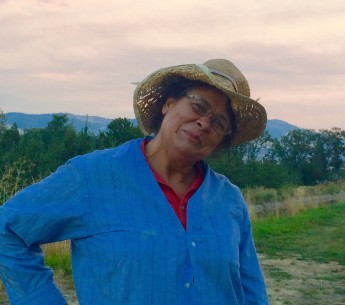 Niria's mother, Cilviana Garcia, at work in the pear orchards of Talent, Oregon, in September 2015.