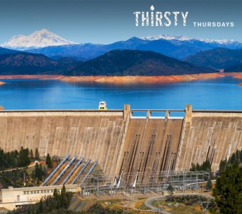 Shasta Dam, above, has lost at least a third of its generating capacity due to California's drought.