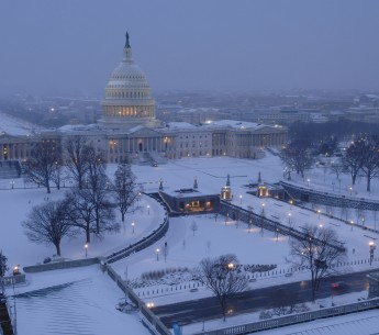 US Capitol Snow