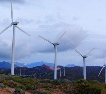 San Gorgonio Pass Wind Farm in California