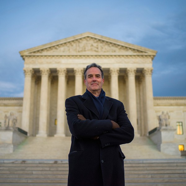 Earthjustice Attorney Jim Pew at the U.S. Supreme Court.