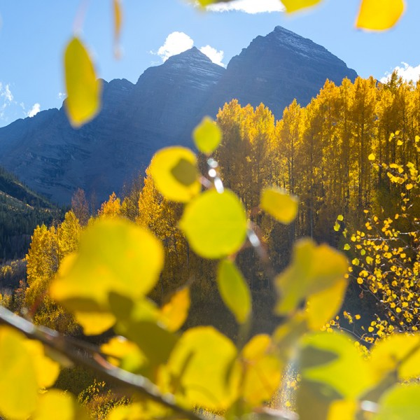 Fall in the Rocky Mountains.