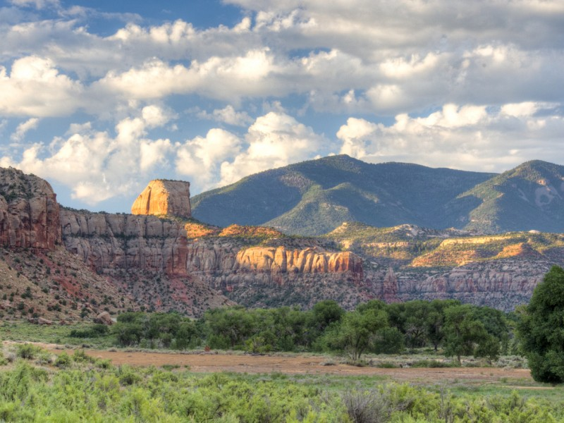 Indian Creek, within Bears Ears National Monument.