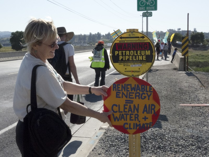 The Refinery Healing Walk is an opportunity to bring people together to combat air pollution issues.