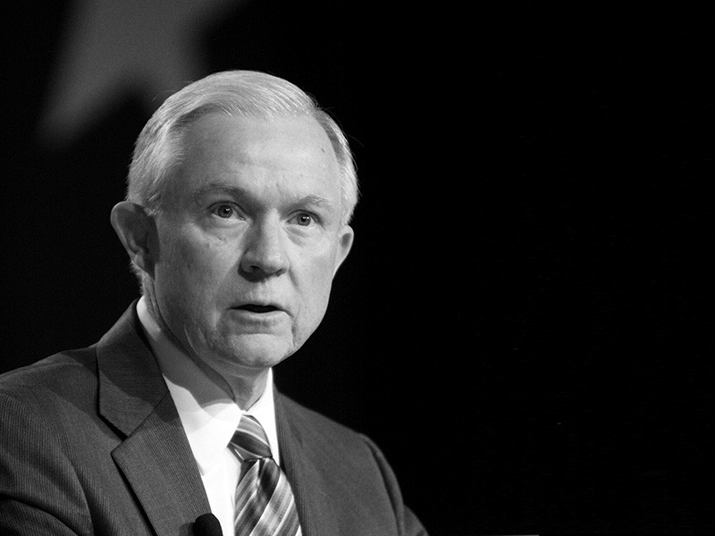 Senator Jeff Sessions speaking at the Values Voter Summit in Washington, D.C., October 7, 2011.