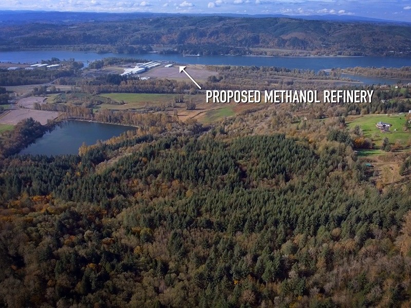 The proposed Kalama methanol refinery, to be located on the banks of the Columbia River, would be the largest methanol-producing facility in the world. It is a threat to our health and the climate.