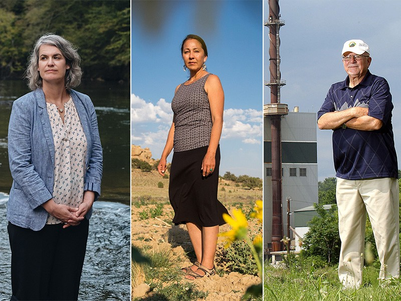 """""""EPA is sentencing entire segments of the population to a poisoned death,"""" said Caroline Armijo (left) of N.C. Read her story, and those of Nicole Horseherder of Ariz., and Tom Sedor of Penn."""