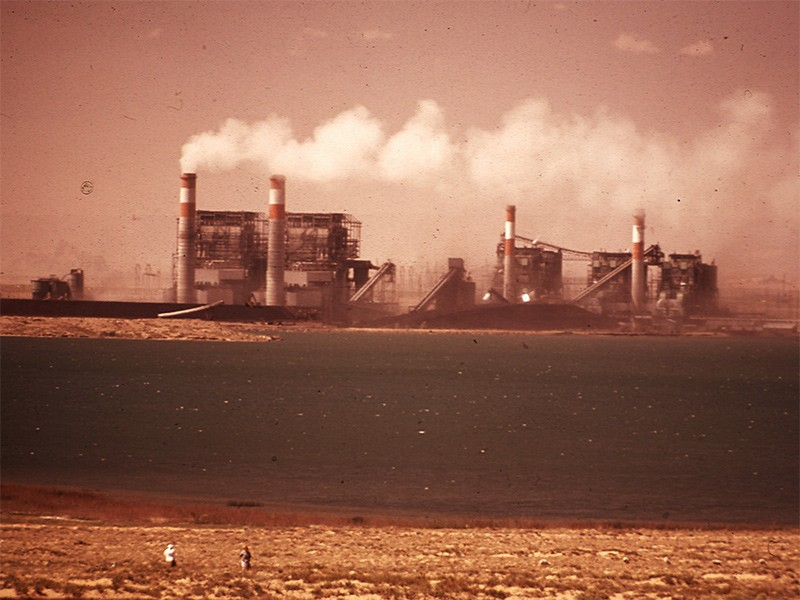 The Four Corners Power Plant, in May of 1972.