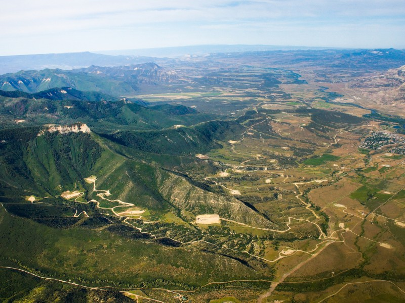 Fracking on BLM land in the Colorado River Valley Field Office of western Colorado.