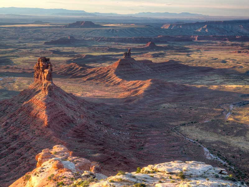 Hard-rock miners can now stake a claim in the lands President Trump carved out from Bears Ears National Monument, including Valley of the Gods, seen here.