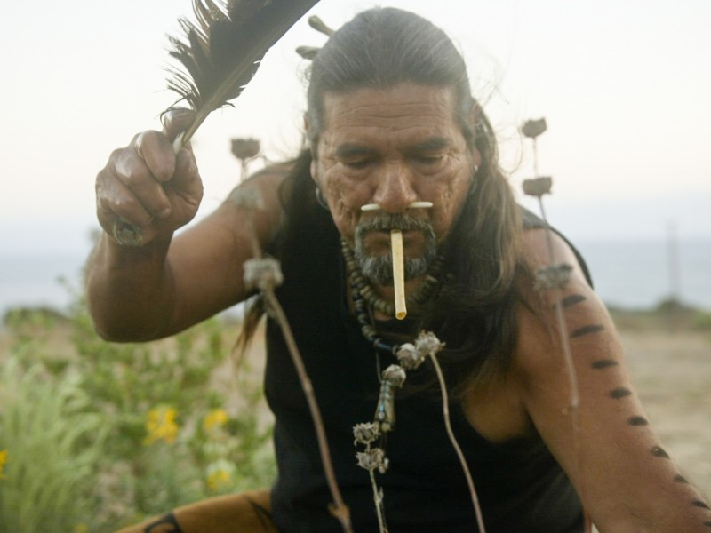 Mati Waiya, a Chumash ceremonial elder, founder and executive director of the Wishtoyo Foundation.