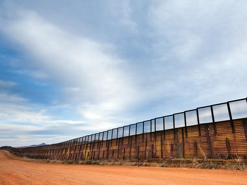 Border walls such as the one in Nacos, Arizona, have already impacted the environment, disrupting the natural migration of animals and causing flooding.