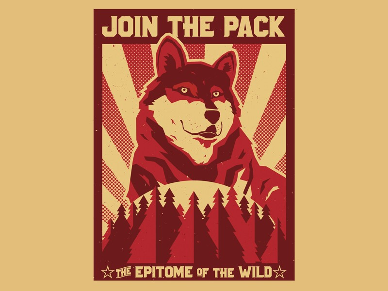 """""""Join the Pack"""" submitted by Michael Czerniawski"""