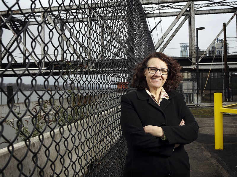 Community organizer Linda Garcia banded together with environmental activists and union leaders to speak out against a proposed massive oil terminal in her hometown of Vancouver, Washington. Gov. Jay Inslee rejected the proposal in January, citing environ