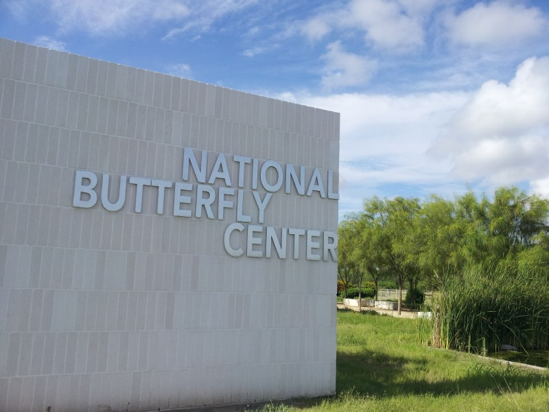 The National Butterfly Center in Mission, Texas, would lose access to parts of their land if the border wall construction is allowed to proceed.
