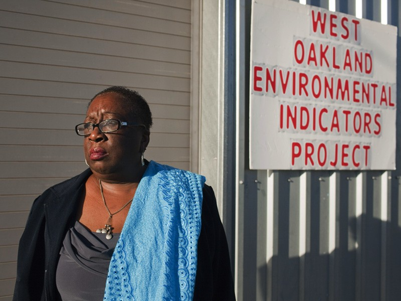 Margaret Gordon, co-founder of the West Oakland Environmental Indicators Project.