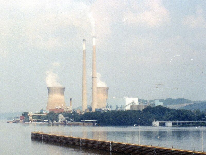 Pleasants power station in West Virginia.