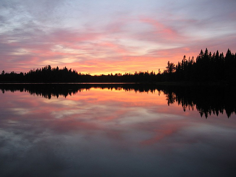 Pose Lake in the Boundary Waters Canoe Area Wilderness