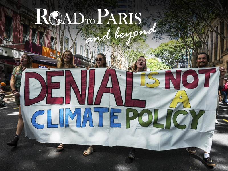 People's Climate March in Brisbane, Australia in 2014.