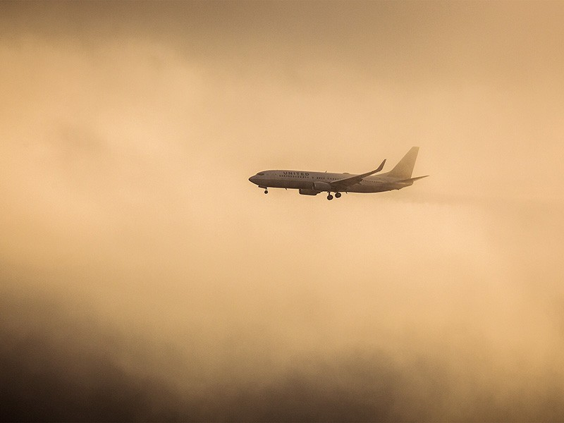 Aircraft emit 11 percent of carbon emissions from U.S. transportation sources.