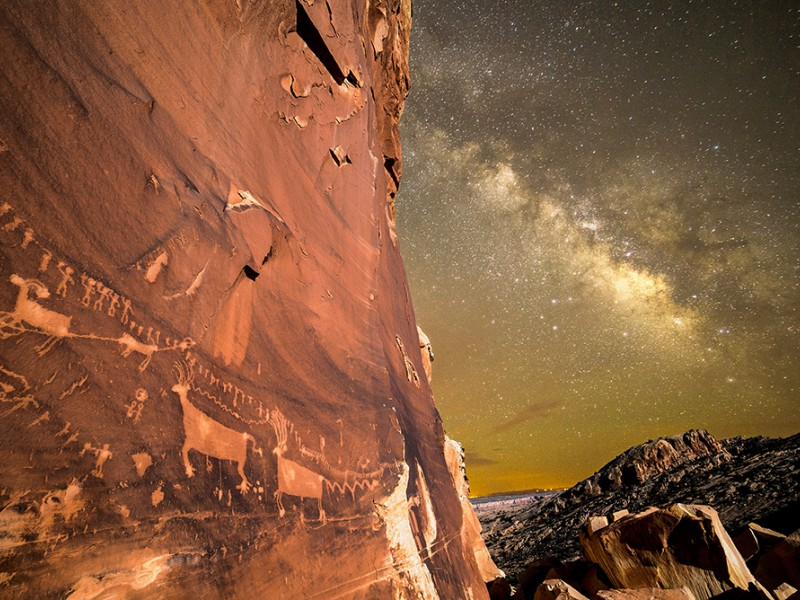The Procession Panel, Bears Ears National Monument.