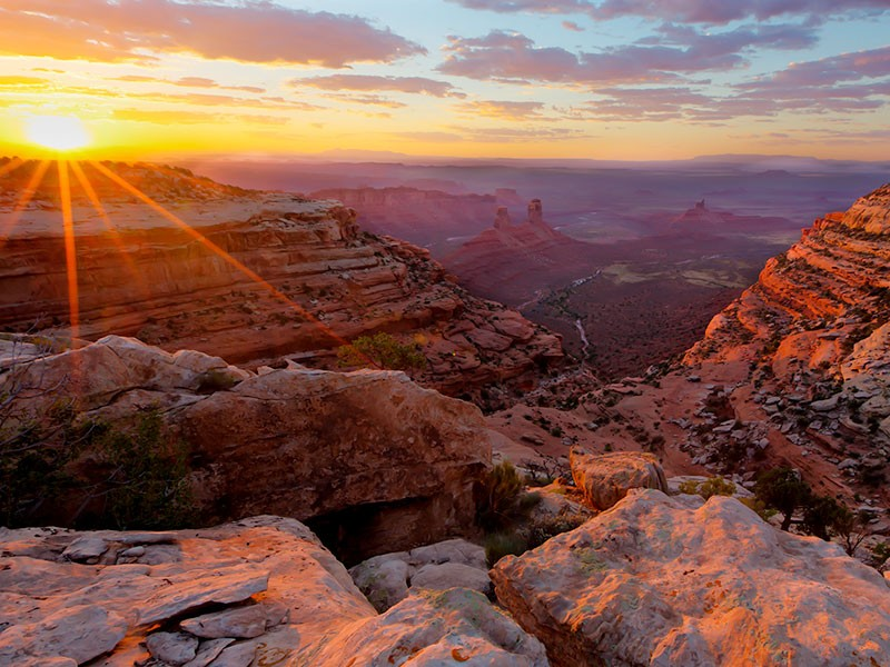 Valley of the Gods in Bears Ears National Monument.