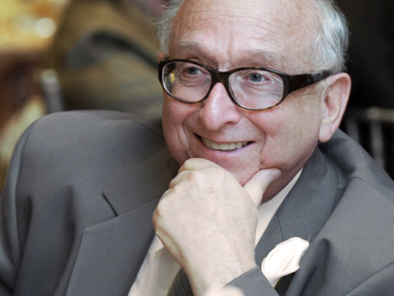 Photo of the late Daniel Greenberg, Earthjustice honorary life trustee