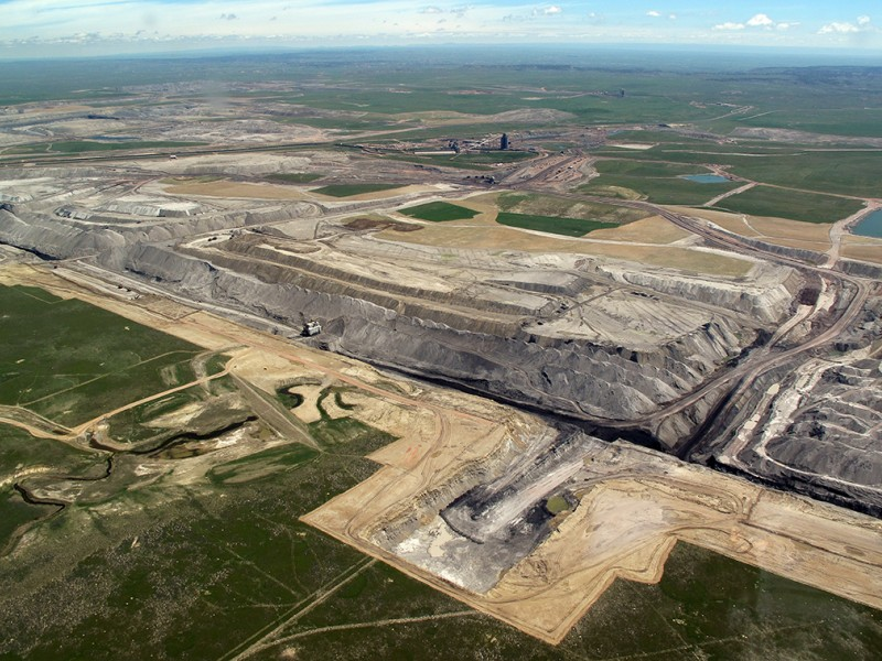 Arch Coal's Black Thunder Mine, Powder River Basin, Wyoming.