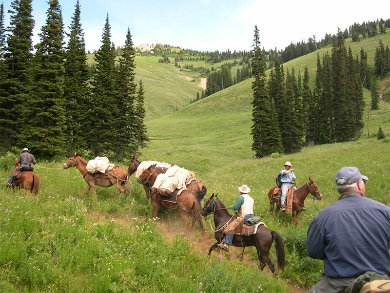 Recreation in the Caribou-Targhee National Forest.