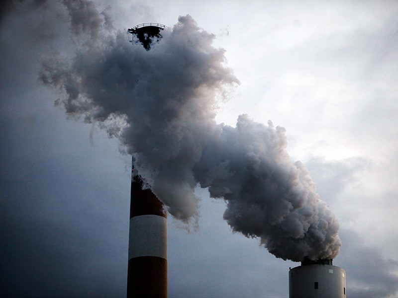 The Cheswick coal-fired power plant in Pennsylvania. Coal-fired power plants, in addition to their tremendous impact on the earth's climate, also release dangerous toxic pollutants like sulfur dioxide and mercury into the air and water.