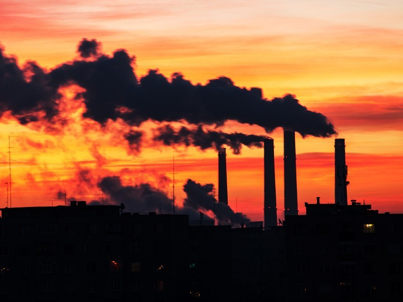 Polluting industries are using COVID-19 as an excuse to call for loosening regulations that limit emissions from power plants like this one.