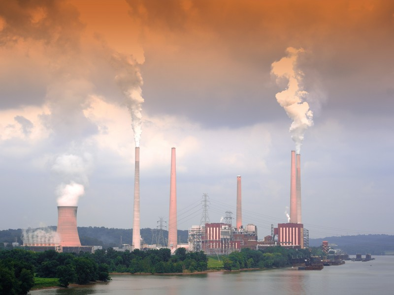 A coal fired power plant in Cincinatti, Ohio.