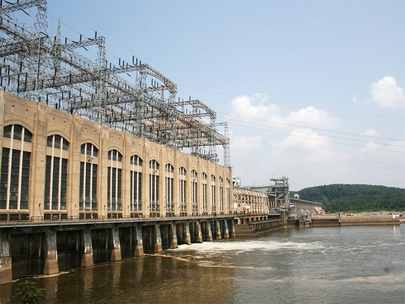 Conowingo Dam on Maryland's Susquehanna River.