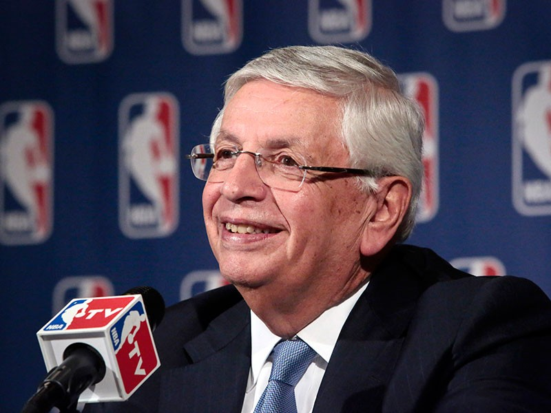 David Stern, during a news conference in 2013.