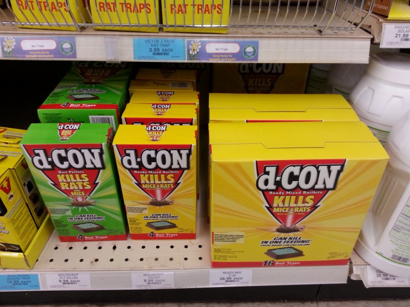d-CON products.