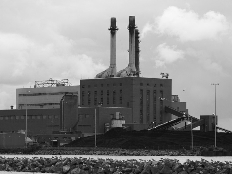 The Dunkirk power plant.