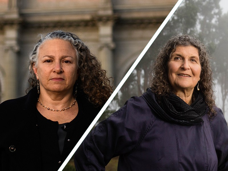 Earthjustice attorney Eve Gartner (left) and scientist Arlene Blum (right) joined forces in 2011 to get flame retardant chemicals out of furniture. The coalition they built compelled federal regulators to call for banning an entire class of flame retardan