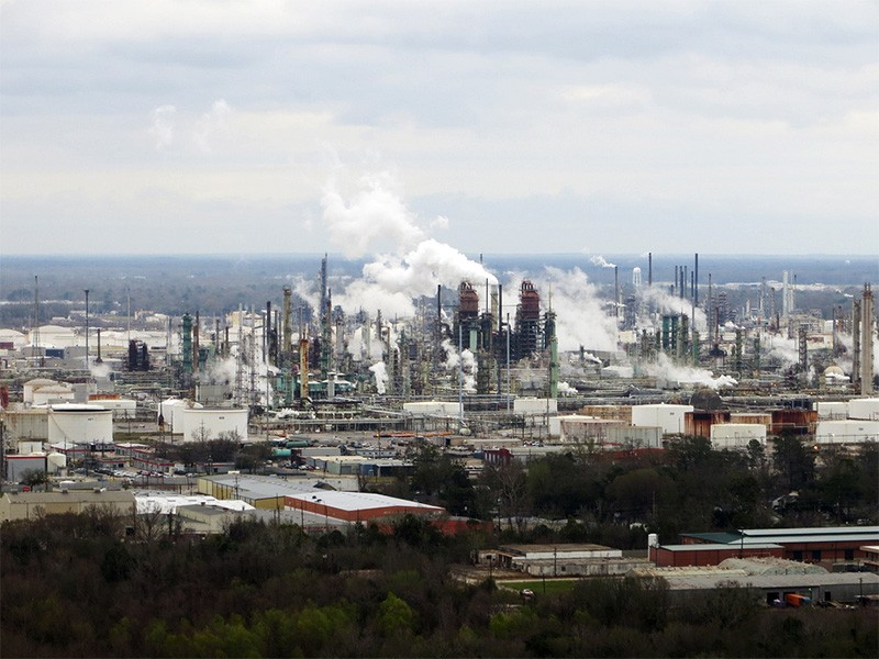 An Exxon refinery in Louisiana.