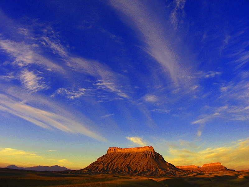 Factory Butte in Utah