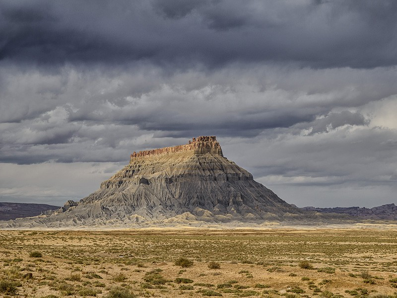 Factory Butte in Utah is among the 2.1 million acres of public lands managed by the BLM Richfield Field Office.