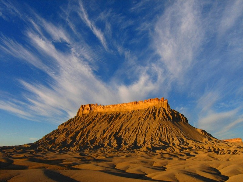 Factory Butte in southern Utah.