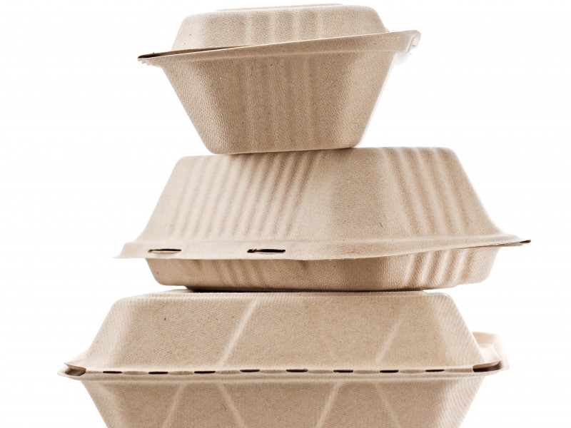 Food packaging containers.