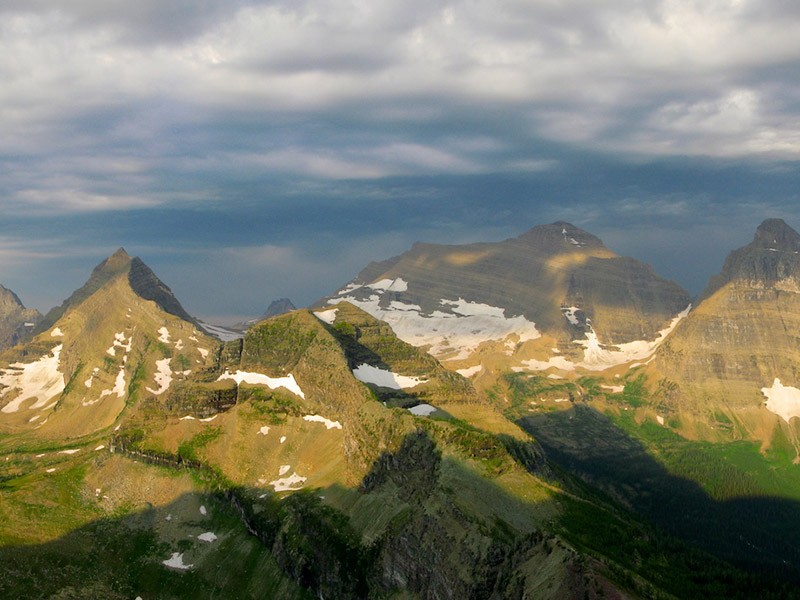 "Glacier National Park is part of the ""Crown of the Continent"" ecosystem, one of the largest undeveloped landscapes remaining in the country, containing some of the most spectacular scenery and intact wildlife populations in the United States."