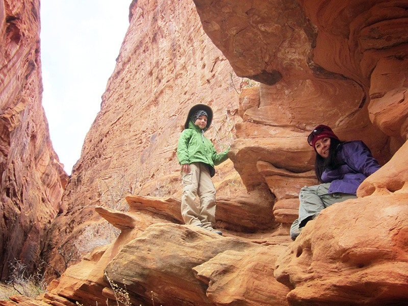 Visitors at Grand Staircase-Escalante National Monument in Utah.